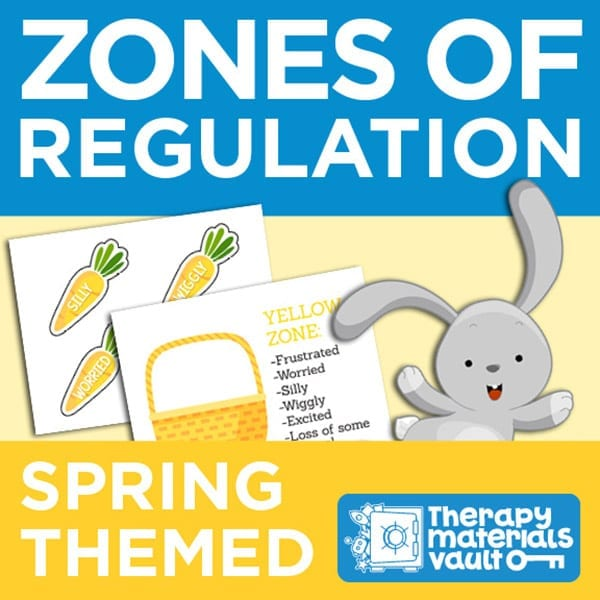 Zones of Regulation: Spring Themed