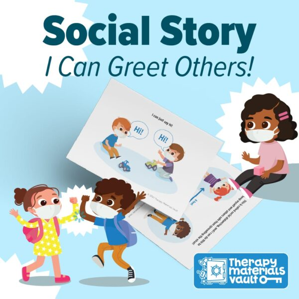 Social Story Greeting Others Covid Precautions