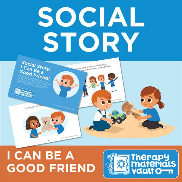 Social Story I Can Be a Good Friend