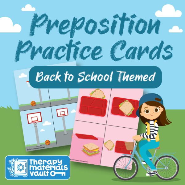 prepositions speech therapy material