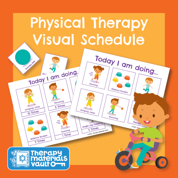 Physical Therapy Visual Schedule