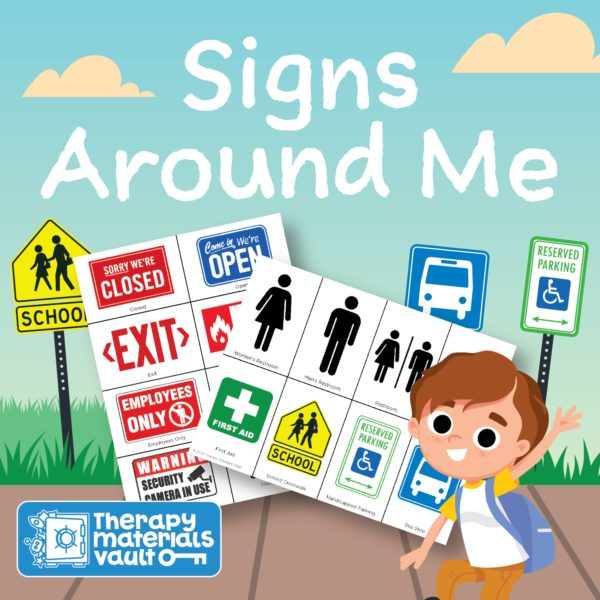 learning signs activity