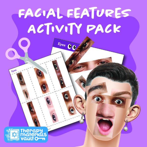 facial features, emotions, sorting activity real photos