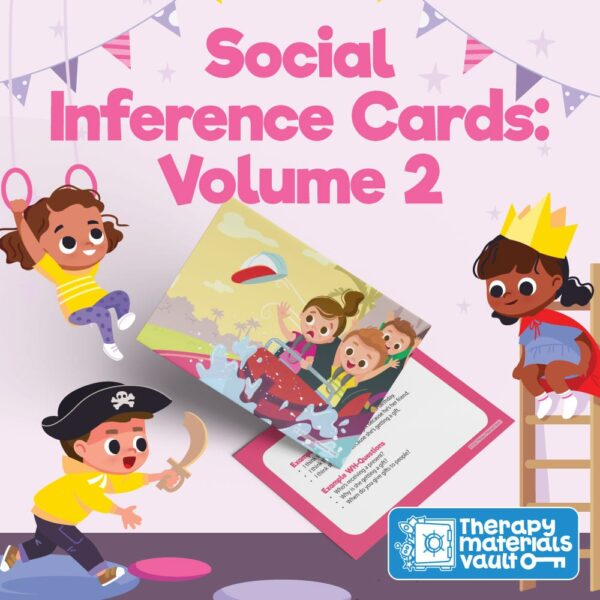 social inference cards speech therapy material
