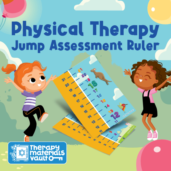 Physical Therapy Jump Assessment Ruler