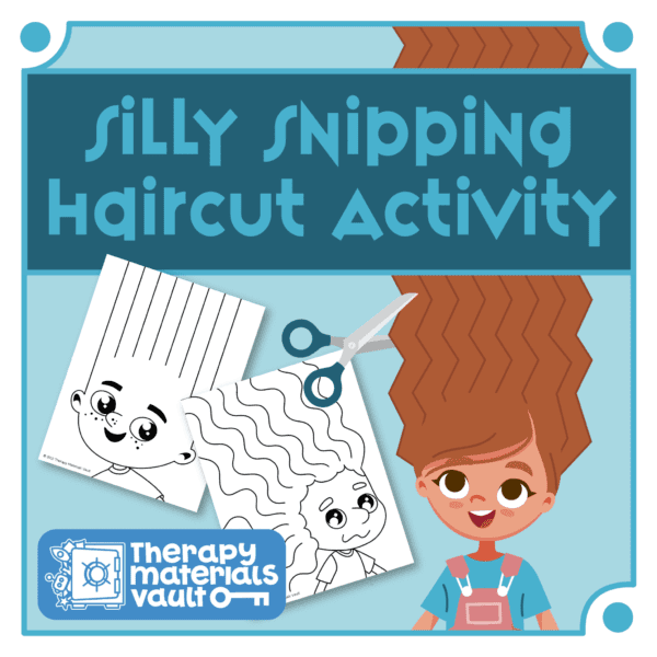 Silly Snipping Haircut Fine Motor Activity