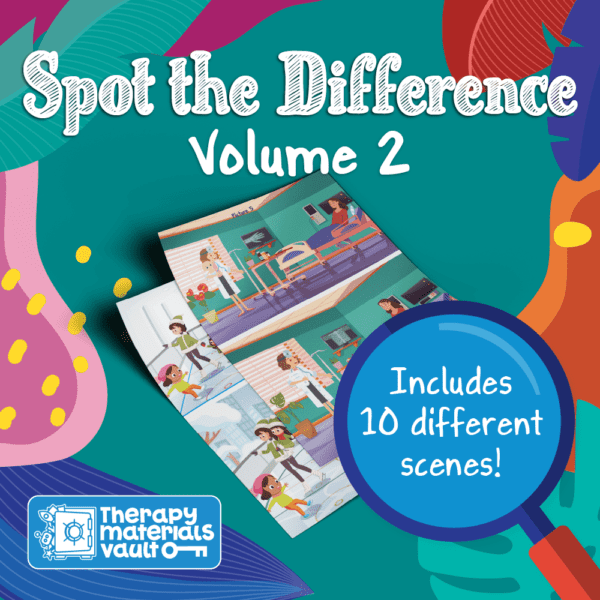spot the difference volume 2 visual perception