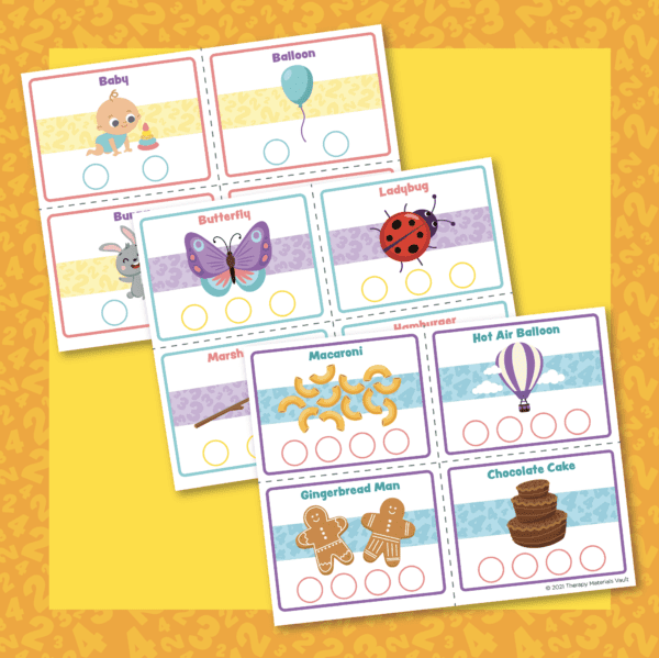 Syllable Step Cards